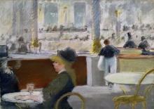 Manet, Un caffe, Place du Theatre Francais.jpg