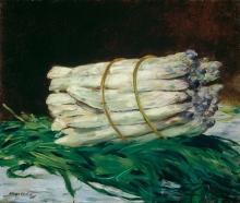 Manet, Un mazzo di asparagi.jpg