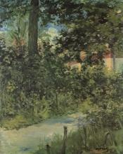 Manet, Un viale del giardino a Rueil.jpg