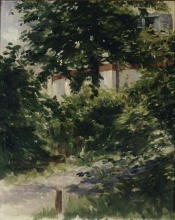 Édouard Manet, Un viale nel giardino di Rueil | Une allée dans le jardin de Rueil