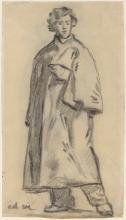 Manet, Uomo che indossa un mantello [recto].jpg