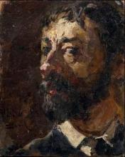 Pompeo Mariani, Autoritratto [1886]