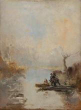 Pompeo Mariani, Giornata di caccia promettente. Zelata