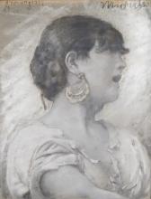 Francesco Paolo Michetti, Ritratto di Donna Annunziata