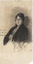 Francesco Paolo Michetti, Ritratto di donna