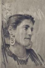 Francesco Paolo Michetti, Ritratto di popolana