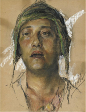 Francesco Paolo Michetti, Studio di Aligi