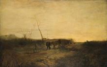 Millet (attribuito a), Paesaggio.jpg