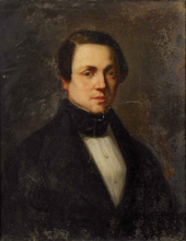 Millet (attribuito a), Ritratto di Georges Fournerie.png
