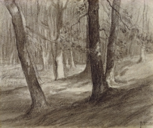 Millet, Alberi in una foresta.jpg