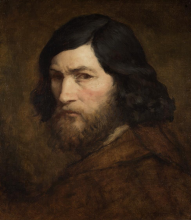 Millet, Autoritratto   Selbstbildnis   Autoportrait   Self portrait