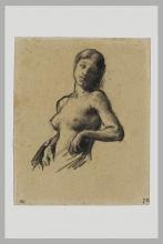 Millet, Busto di una ragazza nuda.png