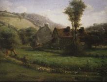 Millet, Casetta in un paesaggio.jpg