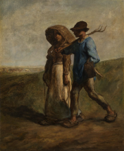 Millet, Contadini che vanno al lavoro [1850-1851 circa].png