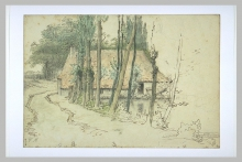 Millet, Dintorni di Vichy, casa sul bordo dell'acqua.jpg