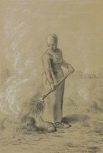 Millet, Donna che brucia delle erbacce.jpg