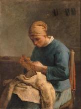 Millet, Donna che cuce.jpg