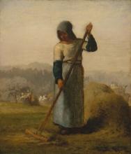 Millet, Donna con un rastrello.jpg
