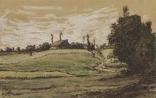 Millet, Fattoria sulle alture di Vichy, probabilmente Les Malavaux.jpg
