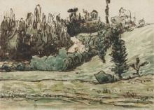 Millet, Fianco di collina boscoso nei pressi di Vichy.jpg