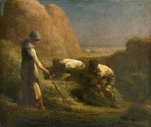 Millet, Gli affastellatori di fieno.jpg