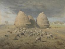 Millet, I covoni di fieno | Les meules | De hooibergen | The strawstacks