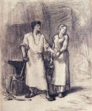 Millet, Il fabbro e sua moglie.jpg