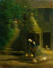 Millet, Il pozzo a Gruchy [1854].jpg