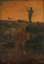 Millet, Il richiamo a raccolta delle vacche.jpg