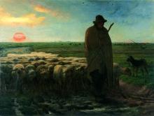 Millet, Il ritorno del gregge [1856-1860].jpg