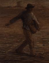 Millet, Il seminatore [1865 circa][3][dettaglio].png