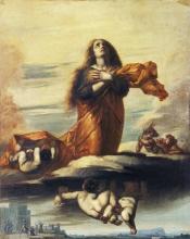 Jean-François Millet, L'Assunzione di santa Barbara | Sainte Barbe enlevée au ciel | The Assumption of Saint Barbara