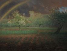 Jean-François Millet, L'arcobaleno