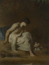 Millet, La bagnante [1846-1848].png