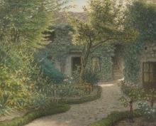 Millet, La casa di Theodore Rousseau a Barbizon.jpg