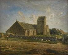 Millet, La chiesa di Greville [1871-1874].jpg