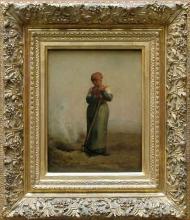 Millet, La donna che brucia erbacce [cornice].jpg