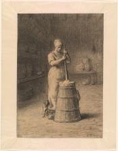 Millet, La donna che fa il burro [1855-1858].jpg