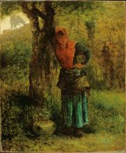 Millet, La lattaia [1854].png