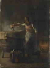 Millet, La lisciviatrice [1853-1854 circa].jpg