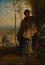 Millet, La pastorella [1868-1872].jpg