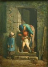 Millet, La precauzione materna [1857-1858 circa].jpg