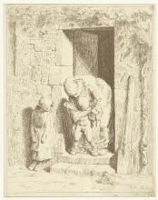 Millet, La precauzione materna [1862].jpg