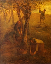 Millet, La raccolta delle mele.jpg