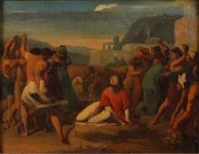 Millet, Lapidazione di santo Stefano.jpg