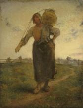 Millet, Lattaia normanna a Greville [1874].jpg
