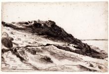 Millet, Le Rocher du Castel Vendon [1854].jpg