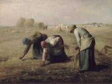 Millet, Le spigolatrici [1857].png