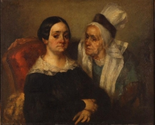 Millet, Madame Deslongchamps e sua figlia Madame de Vaudiville.jpg