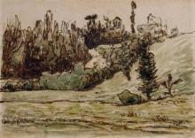 Millet, Paesaggio ondulato fiancheggiato da alberi, nei dintorni di Vichy.jpg